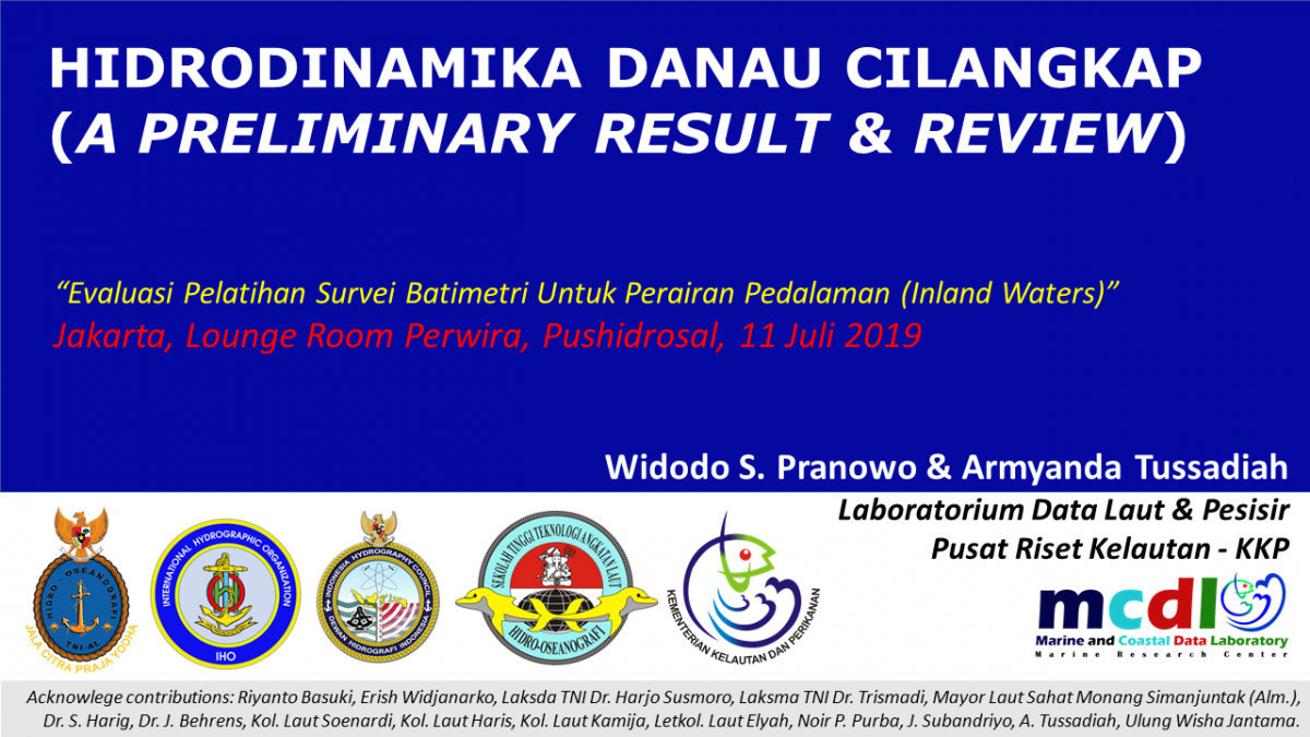 WPranowo Hydrodynamics-Inland-Waters for PUSHIDROSAL 2019-07-11