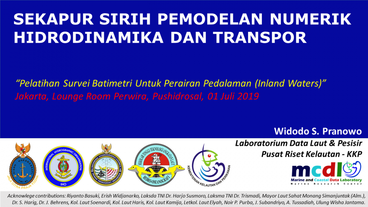 WPranowo Hydrodynamics-Modelling for PUSHIDROSAL 2019-07-01